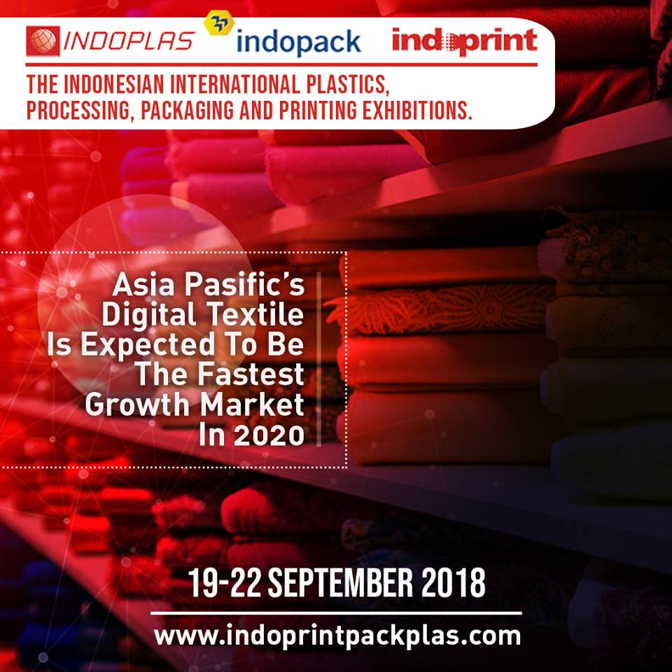 Indoplas, Indopack & Indoprint - JIExpo, 19-22 September 2018