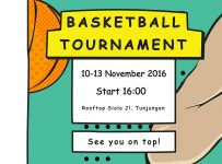 3on3 Basketball Tournament - Gedung Siola Surabaya, 10 - 13 November 2016