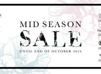 Central Park Mall Jakarta Mid Season Sale, Periode Oktober 2016