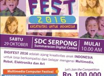 Digifest 2016 - Summarecon Digital Centre Serpong, 29 Okt'16