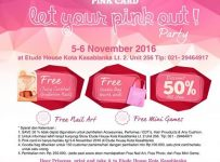 Etude House Let Your Pink Out Party - Kota Kasablanka Jakarta, 5 - 6 November 2016