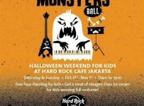 Halloween Weekend for Kids - Hard Rock Cafe Jakarta, 31 Okt - 1 Nov 2016