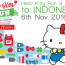 "Hello Kitty Run Indonesia ""Happy Lucky Together"" - Aeon Mall BSD City, 6 November 2016"