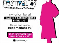 Hijabmorfosa Festival - Jogja Expo Center, 17 - 20 November 2016
