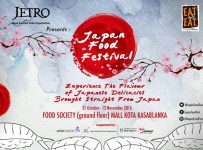 Japan Food Festival - Food Society Kota Kasablanka, 13 November 2016