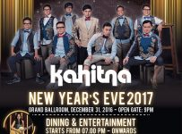 Kahitna New Year's Eve 2017 - InterContinental Bandung Dago Pakar, 31 Des'16