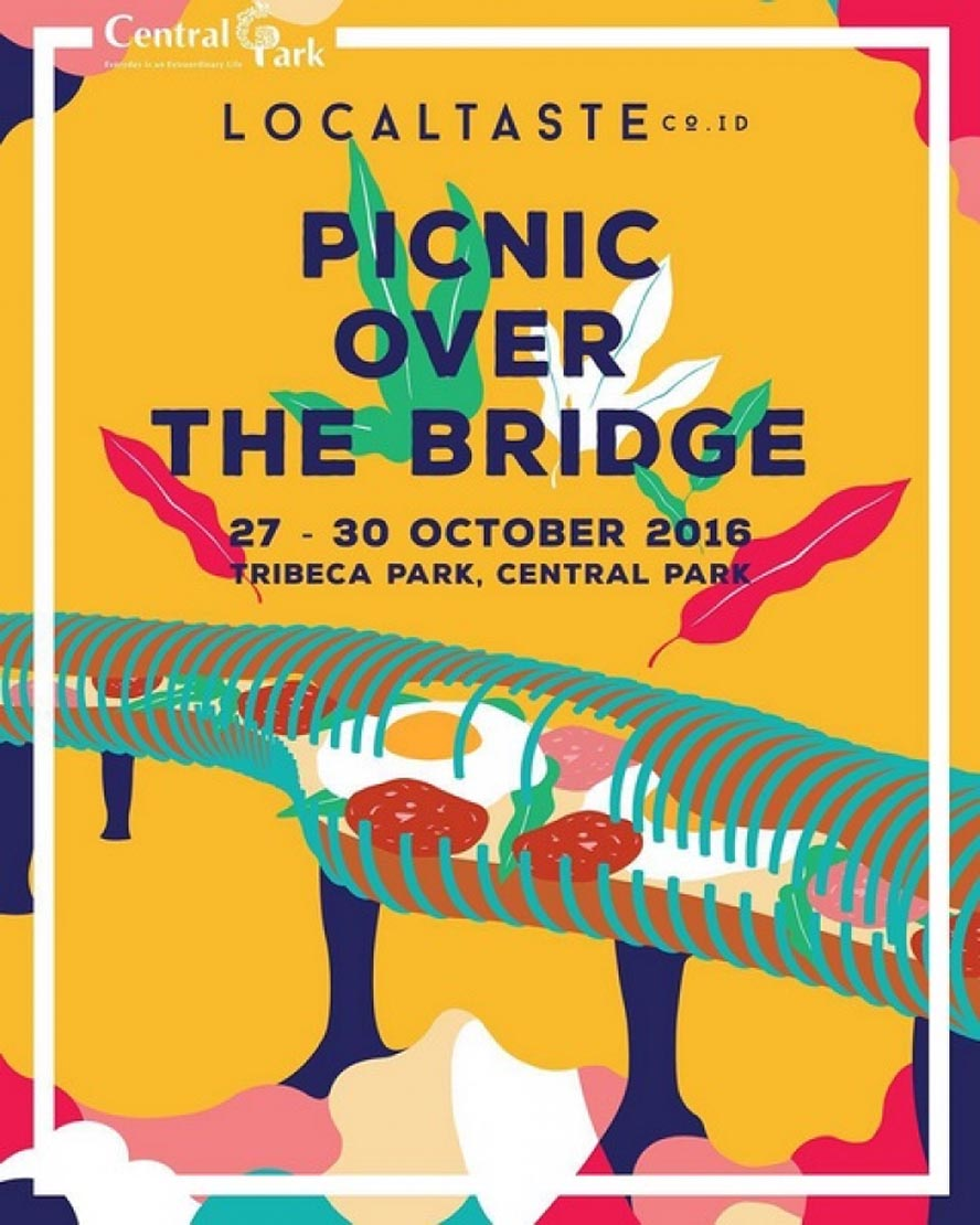 LocalTaste Picnic Over The Bridge - Central Park Mall Jakarta, 27 - 30 Oktober 2016