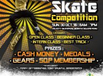 Scientia Skate Competition - Scientia Square Park Serpong, 30 Oktober 2016