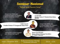 "Seminar Nasional ""Explore Your Passion Career"" - Universitas Indonesia, 3 Nov 2016"