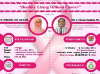 "Seminar Nasional ""Healthy Living Without Cancer"" - Auditorium UNNES, 20 November 2016"