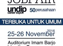 Undip Career Expo - Auditorium Imam Bardjo, 25 - 26 November 2016