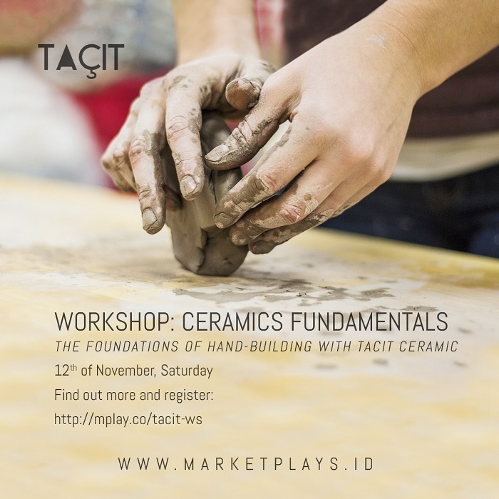 "Workshop Ceramics Basics ""Foundations of Hand-building"" - Treeangelo Coffee Jakarta, 12 Nov 2016"