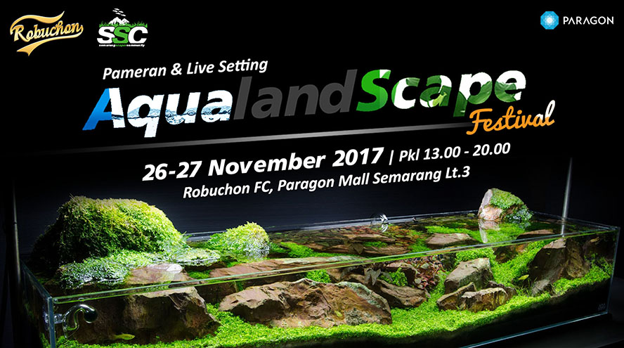 Aqualandscape - Robuchon Foodcourt Paragon Mall Semarang, 25 - 26 November 2016