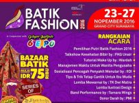 Batik Fashion & The 6th Gebyar Ippkindo Expo - Grand City Surabaya, 23 - 27 November 2016