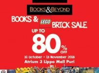 Books & Lego Brick Sale - Books & Beyond Lippo Mall Puri, Periode Sampai 13 Nov 2016