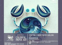 Colorful Paper Art : Basic Paper Quilling with MADEBYICUK - Yogyakarta, 3 Desember 2016