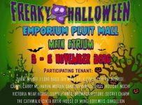 Freaky Halloween Bazaar - Emporium Pluit Mall, 3 - 6 November 2016