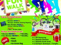 Fun Walk Metro 10 Meruya, 20 November 2016