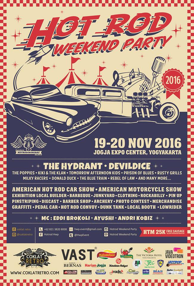 Hot Rod Weekend Party - Jogja Expo Center (JEC), 19 - 20 November 2016