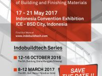 Indobuildtech Expo - Indonesia Convention Exhibition (ICE), 17 - 21 Mei 2017