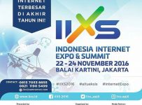 Indonesia Internet Expo & Summit - Balai Kartini Jakarta, 22 - 24 November 2016