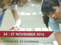 Japanese Film Festival - Cinemaxx fX Sudirman Jakarta, 24 - 27 November 2016