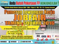 Job Fair Tamini Square, 23 - 24 November 2016