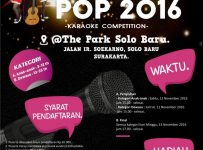 Lomba Karaoke POP - The Park Solo Baru, 11 - 13 November 2016
