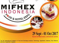 Medan International Food & Hotel Expo (MIFHEX) - Medan International Convention Centre, 29 Sept - 1 Okt 2017