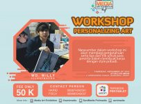 Media Art Exhibition 4 : Workshop with Wd. Willy - PoliMedia Jakarta, 24 November 2016