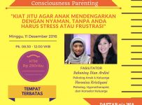 Mini Workshop Consciousness Parenting - MM Juice Cikajang, 11 Desember 2016