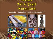Pameran Art & Craft Nusantara - Green Pramuka Square, 21 Des'16 - 28 Mar'17