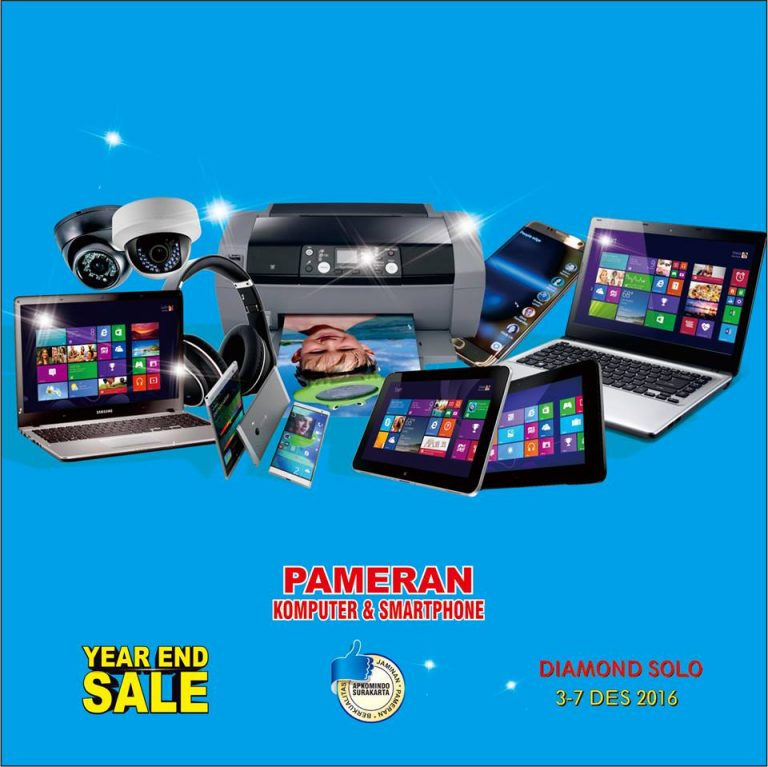 "Pameran Komputer & Smartphone ""Year End Sale (YES)"" - Diamond Solo Convention Center, 3 - 7 Desember 2016"