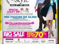 Promo Mall Alam Sutera : Beauty in Style, Periode Sampai 20 November 2016