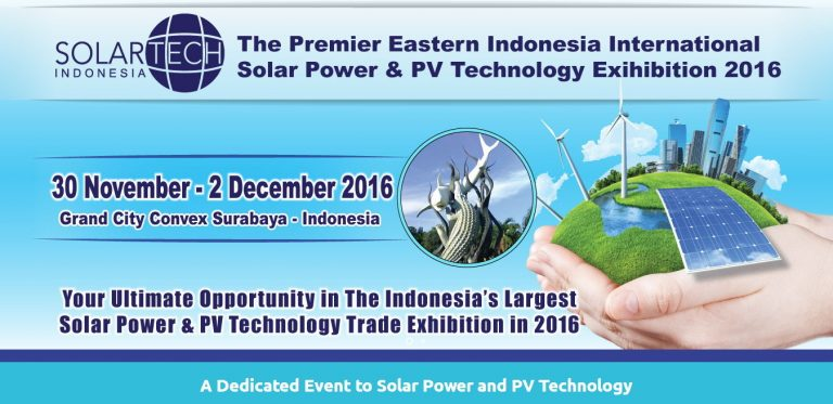 Solartech Surabaya - Grand City Convex, 30 November - 2 Desember 2016