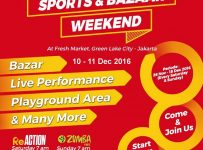 Sport & Bazaar - Fresh Market Green Lake City, 10 - 11 Desember 2016