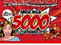 Suroboyo Book Sale - Atrium Utama Royal Plaza Surabaya, 21 - 27 November 2016