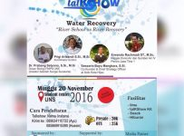 "Talkshow ""River School as River Recovery"" - Student Center UNS, 20 November 2016"