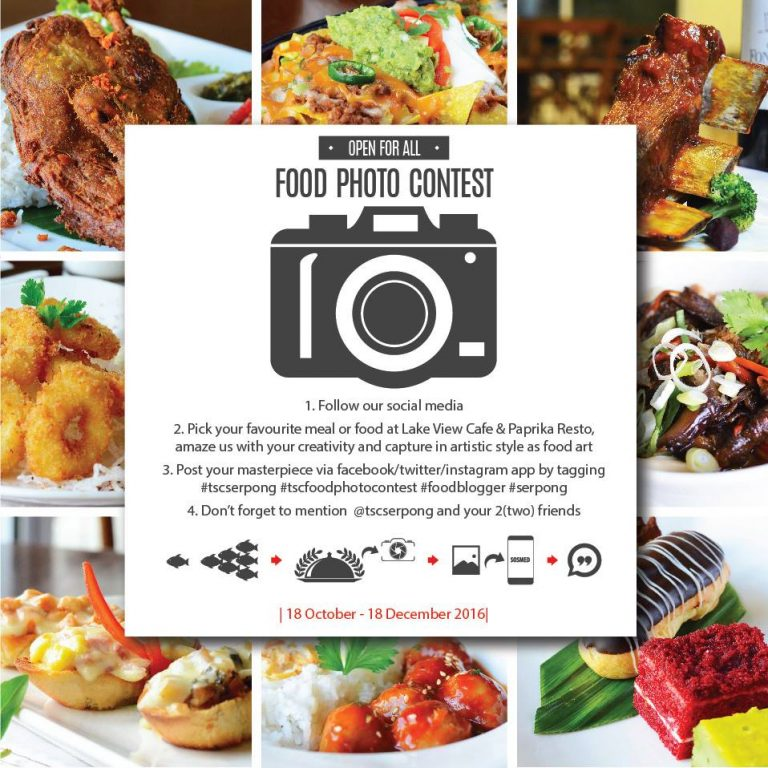 The Springs Club Food Photo Contest, Periode Sampai 18 Desember 2016