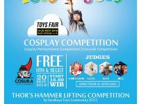 Toys Joys Cosplay & Thor's Hammer Lifting Competition - Grand City Surabaya, 14 - 20 November 2016