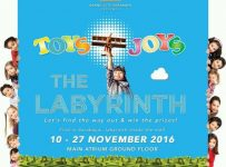 "Toys Joys The Labyrinth ""Let's Find the Way Out & Win the Prizes"" - Grand City Mall Surabaya, 10 - 27 Nov 2016"