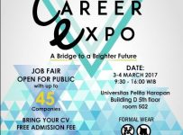 Universitas Pelita Harapan Career Expo, 3 - 4 Maret 2017