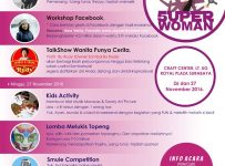 WOSCA Festival : Superwoman, Super You! - Craft Center Royal Plaza Surabaya, 26 - 27 November 2016