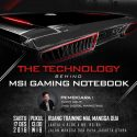 "Workshop ""The Technology Behind MSI Gaming Notebook"" - Mal Mangga Dua Jakarta, 17 Desember 2016"