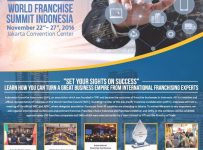 World Franchise Summit Indonesia (WFSI) - Jakarta Convention Center, 22 - 27 November 2016