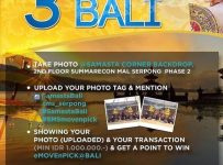 3 Simple Steps Go to Bali - Summarecon Mall Serpong, Periode Sampai 31 Januari 2017