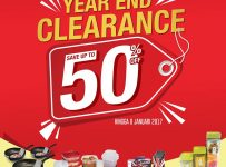 ACE Year End Clearance, Periode Hingga 8 januari 2017