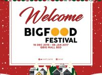 BIGFood Festival - QBIG BSD City, 16 Desember - 08 Januari 2017