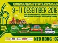 Bandung Food Business Opportunity Expo - Graha Manggala Siliwangi, 9 - 11 Desember 2016
