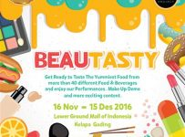 Beautasty Mall of Indonesia (MOI), 16 November - 15 Desember 2016